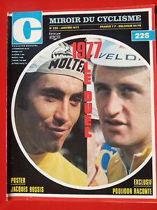 1977 miroir du cyclisme n 226 merckx maertens le duel for Le miroir du cyclisme