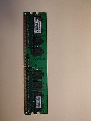 Kingston ValueRAM 1 GB DIMM 800 MHz PC2-6400 DDR2 Memory (KVR800D2N5K2/1G) 1g Valueram Pc Memory