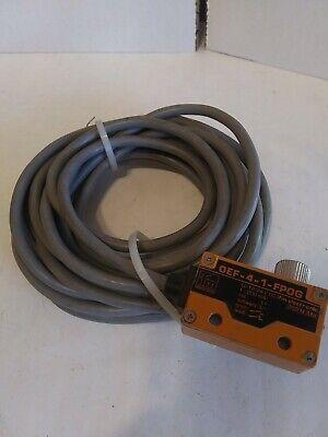 Ifm Electronics Oef-4-1-fpog Photoelectric Sensor