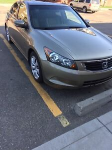 2009 Honda Accord fully loaded 2.4L