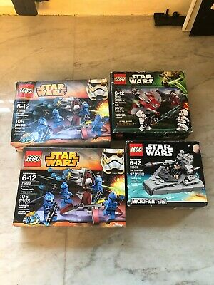 lego star wars lot 2x 75088 1x 7501 1x 75033 BRAND NEW