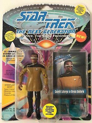 Star Trek Next Generation Uniforms (Star Trek Next Generation Geordi LaForge iin Dress Uniform Playmates)