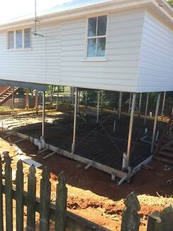 Under House Concrete Slabs and Footings