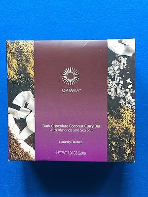Medifast Optavia Dark Chocolate Coconut Curry Bars   Fresh  Free Shipping