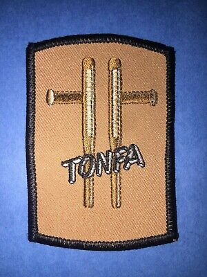 Vintage 1980's Tonfa Weapons Karate Kung Fu Martial Arts Jacket Patch Crest 688