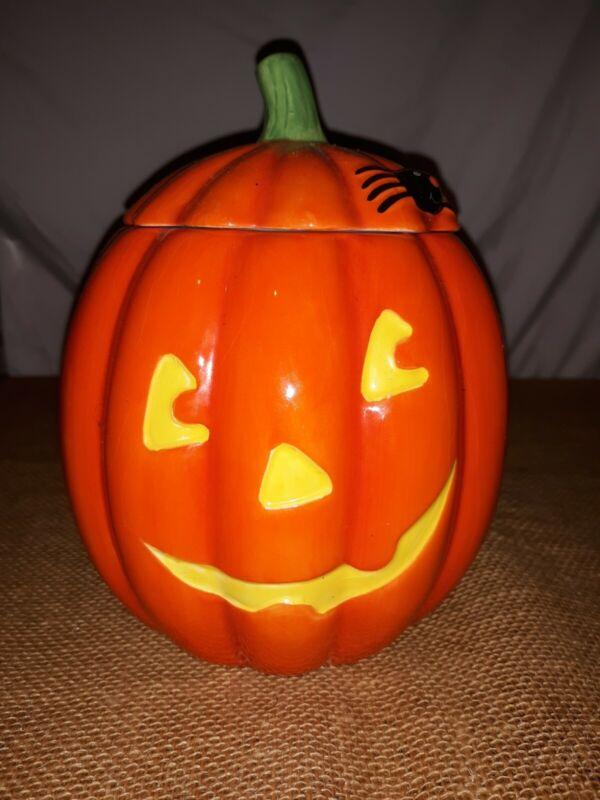 Hallmark Halloween Pumpkin Cookie Jar