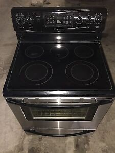 Stainless Steel Fridgidaire Stove & Over-The-Range Microwave