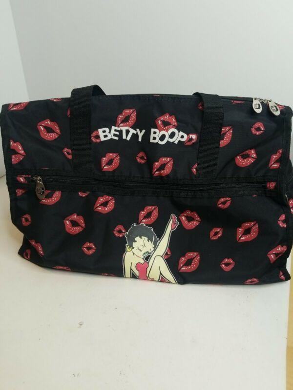 Betty Boop Legs & Kisses Travel Duffel Bag