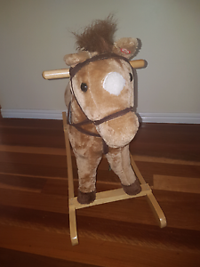 Childrens  rocking  horse Thagoona Ipswich City Preview