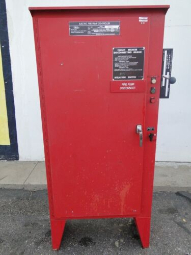 USED METRON ELECTRIC FIRE PUMP CONTROLLER SYSTEM 460v 40hp M400