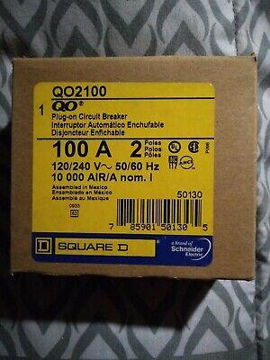 Square D Qo2100 100 A Miniature Circuit Breaker