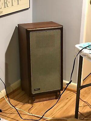 Custom Made Walnut Speaker Stands for Advent Large Custom Made Walnut