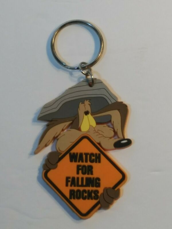 """Vintage"" Wile E. Coyote Keychain... (1996)"