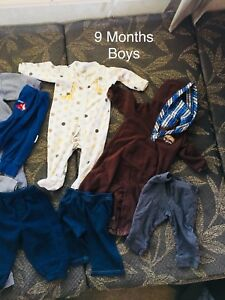 9 months boys clothes