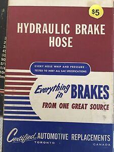 Antique  Brake lines