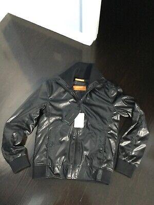 Zara bomber aviator jacket size large black