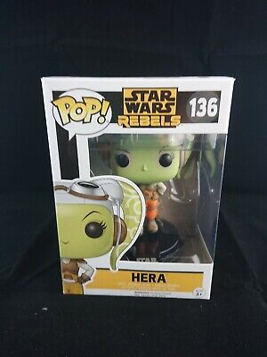 FUNKO POP! STAR WARS: HERA STAR WARS REBELS # 136