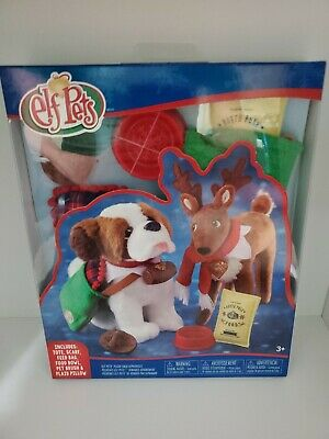 The Elf on the Shelf: Elf Pets Claus Couture Good Tidings Toy Tote & Scarf Set