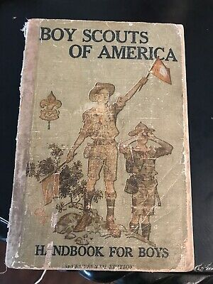 Boy Scouts Of America Handbook For Boys Copy Right 1911