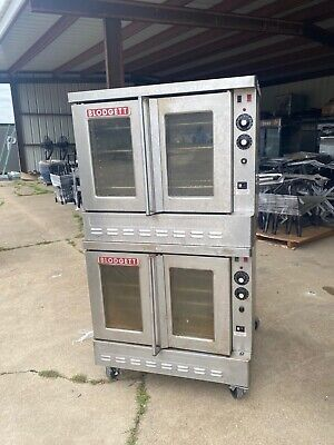 Blodgett Sho-100-g Dbl Convection Gas Oven With Double-deck