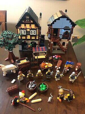 LEGO - Castle Medieval Market Village Set # 10193 100% Complete no manual or box