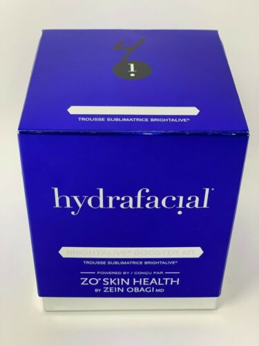 Hydrafacial ZO Skin Health Brightalive Booster Kit Set of 2 Vials