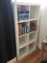 USED WHITE IKEA KALLAX SHELVING CUBES 2 x 5 Northbridge Willoughby Area Preview