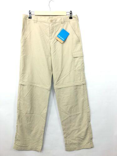 NWT Columbia Youth Nylon Omni-Shade Convertible Hiking Pants XL (18/20) NEW