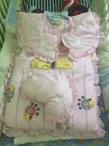 Quilted infant sleeping bag Snoopy