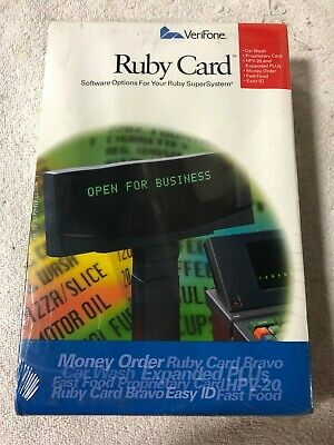 P040-07-507 Verifone Ruby Card Expanded Plu Card Only