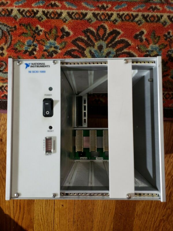 National Instruments NI SCXI-1000 4-Slot Chassis w/ Power Module