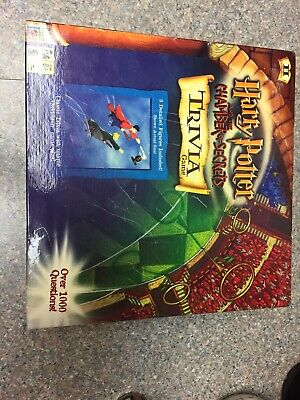 Harry Potter and the Chamber of Secrets Trivia Game  NEW, No Cellaphane (Harry Potter And The Chamber Of Secrets Trivia)
