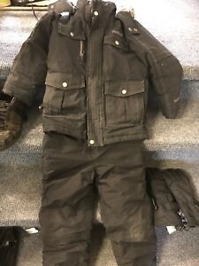 Kid boys winter pants and coat