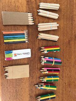 Mini coloured pencil bundles/packs