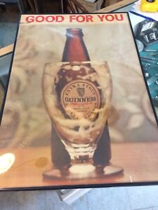 Vintage 1950s era Guinness poster good for you