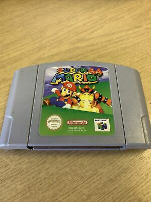 Super Mario 64 - N64 Nintendo 64 - Cartridge only - Pal