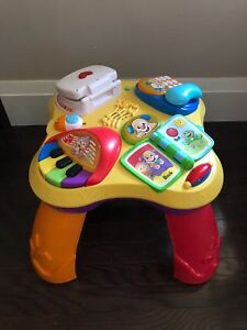 Toy Sale!! Fisher-Price Laugh & Learn Learning Table
