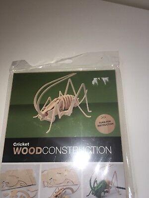 Cricket Wooden Constrution