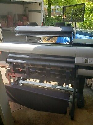 Canon Ipf840 Wide Format Mfp W Colortrac Scanner