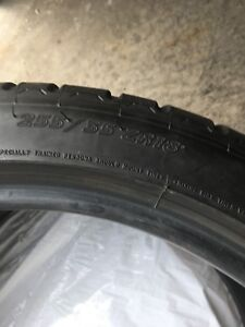 X2 Michelin 255/35 ZR18 tires