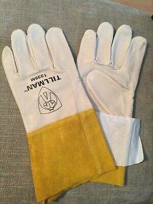Medium Tillman 1335 Top Grain Pigskin Tig Welding Gloves 4 Cuff 1335m