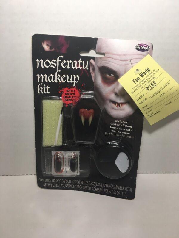 Nosferatu Makeup Kit New Fun World Halloween