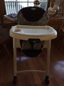 Baby high chair used at gma's house