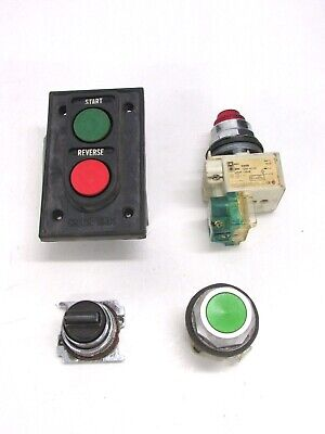 Lot Of 4 Assorted Industrial Switches