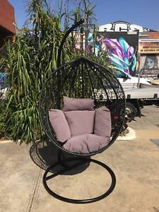 Hanging egg chair,outdoor chair,excalibur furnitur WE CAN DELIVER Brunswick Moreland Area Preview