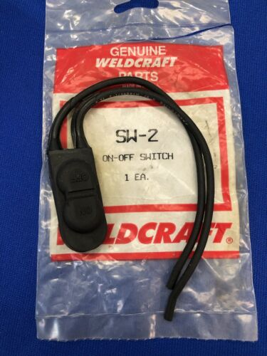 Weldcraft On Off Switch   SW-2  Tig Torch OEM