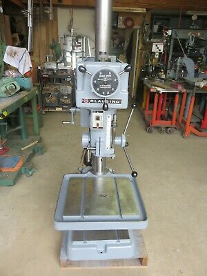 Clausing Drill Press 20 Model 2254 Head And Table Positioning Powermatic 1200