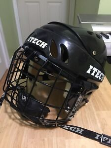 Small ITECH Hockey/Skating Helmet With Face Guard