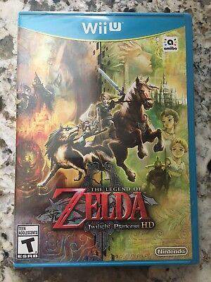 The Legend of Zelda: Twilight Princess HD Nintendo Wii U Brand New NO Amiibo comprar usado  Enviando para Brazil