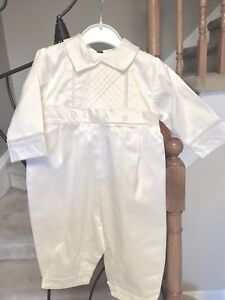Ivory Silk Outfit for Boys